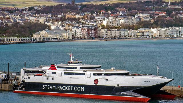 Ferries To Man Island During Man Tt